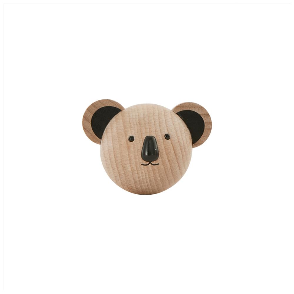 Colgador Koala Madera - Oyoy - perchero - almacenaje infantil - pared - Liderlamp (1)