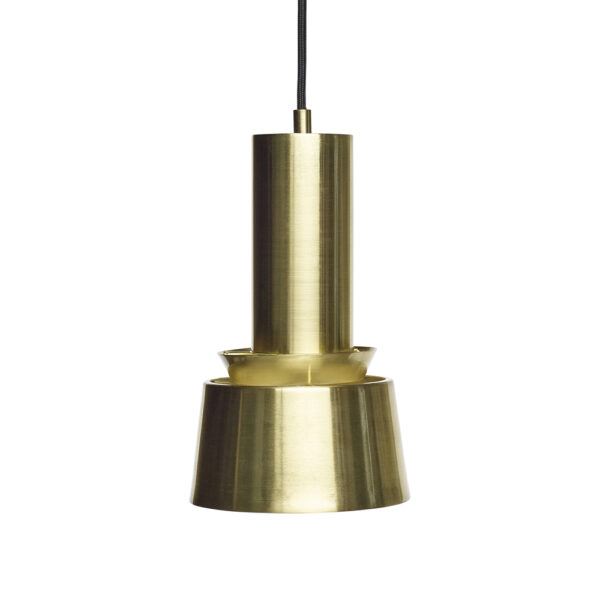 Colgante Rouya – metal – minimalista – laton – Hubsch – Liderlamp (1)