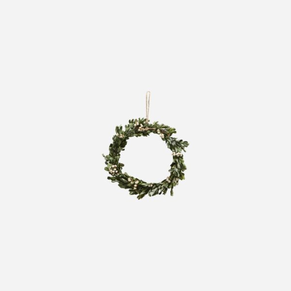 Corona Mistletoe – Pequena – House Doctor – decoracion Navidad – natural – Liderlamp (1)