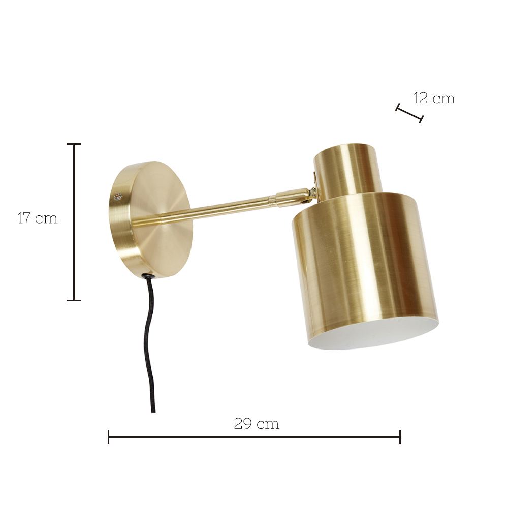 Aplique Melisse - lampara de pared - vintage - elegante - Liderlamp