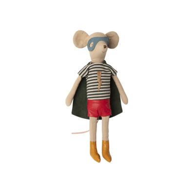 Raton Superheroe - Maileg - juguetes tradicionales - madera - Liderlamp (1)