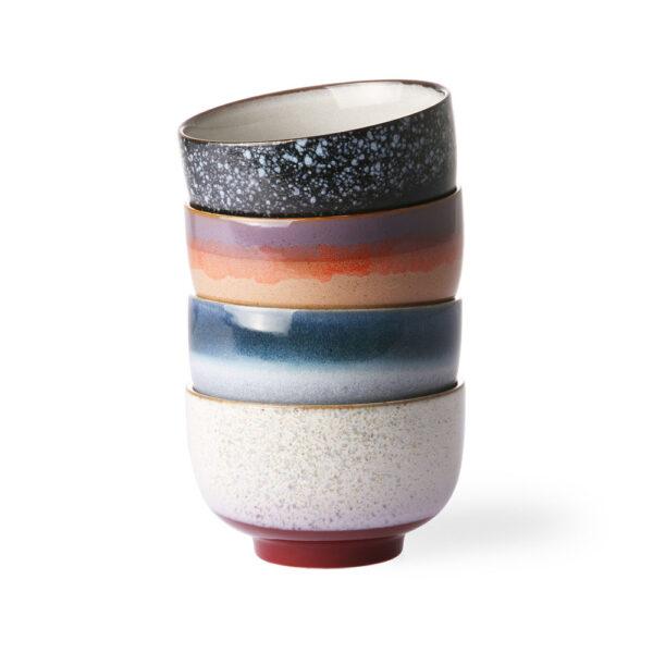 Set 4 Boles de Ceramica - HK Living - menaje - regalo deco - handmade - Liderlamp (4)