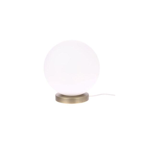 Sobremesa Lamar -grande - cristal esferico - artesanal - HK Living - Liderlamp