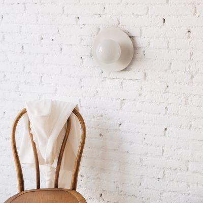 Aplique Anita - estilo Mid Century - tulipa de cristal - Liderlamp (2)