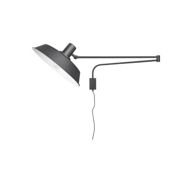 Aplique Bold - Negro - Trio Iluminacion - brazo articulado - metal - Liderlamp (1)