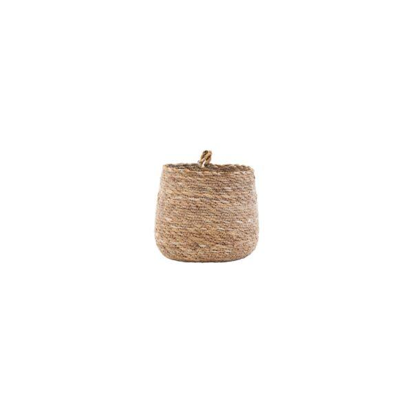 Cesta Hang - House Doctor - cubre macetas - pequeño almacenaje - Liderlamp (4)