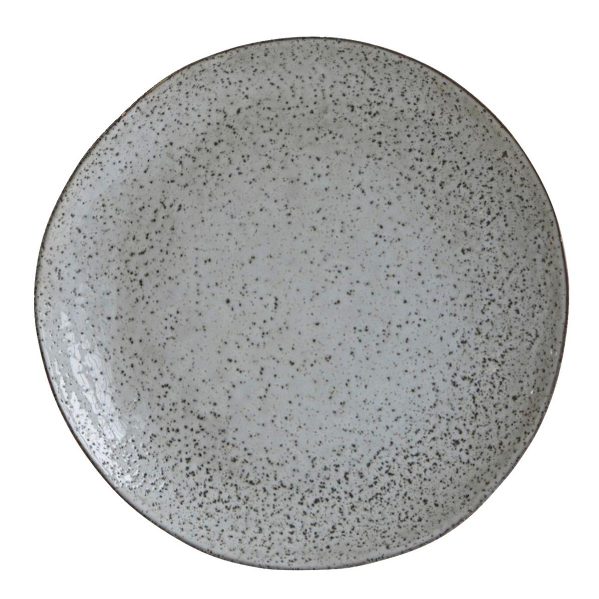 Plato Llano de Gres Rustic - House Doctor - menaje - decorar la mesa - Liderlamp (1)