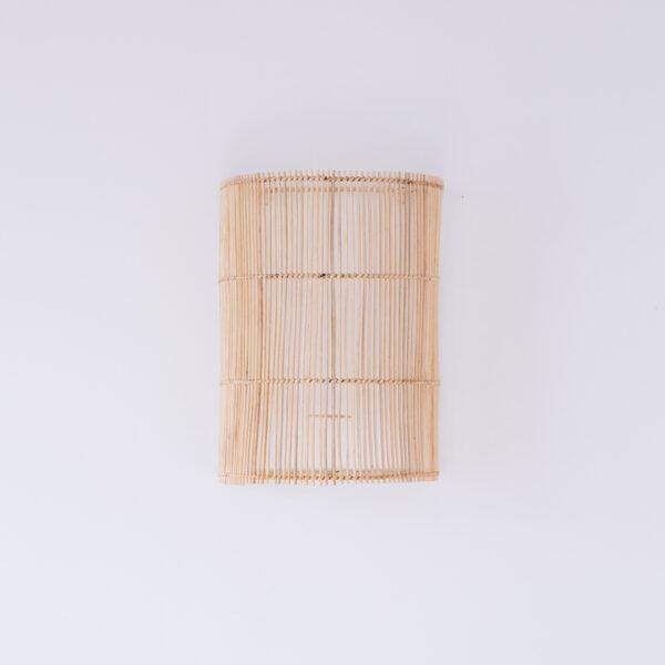 Aplique Morells - ratan en color natural - Mahe - fibras naturales - Liderlamp (1)