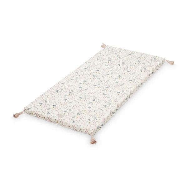 Colchoneta Cannele - hojas rosa - Camcam - habitacion infantil - montessori - juegos - Liderlamp(1)