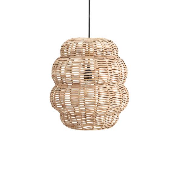 Colgante Hive - Madam Stoltz - bambu y hierro - estilo natural - Liderlamp (1)