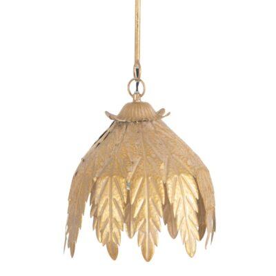 Colgante Jerjes - metal - diseno floral - dorado - botanico - Liderlamp (2)
