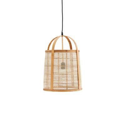 Colgante Tong - Madam Stoltz - bambu y lino - estilo natural - boho - Liderlamp (1)