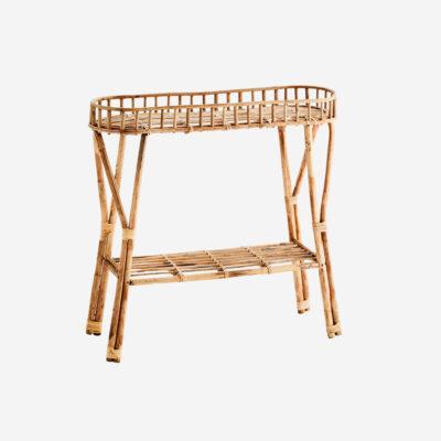Consola de Bambu Bansak - Madam Stoltz - mesa auxiliar - recibidor - Liderlamp (1)