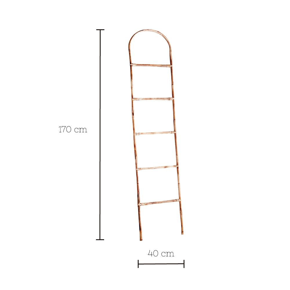 Escalera Perchero Gaon - Madam Stoltz - toallero - gaban - dormitorio - Liderlamp (1)