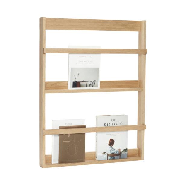Estanteraa Thomery - madera de roble - FSC - revistero - libros - Liderlamp (1)