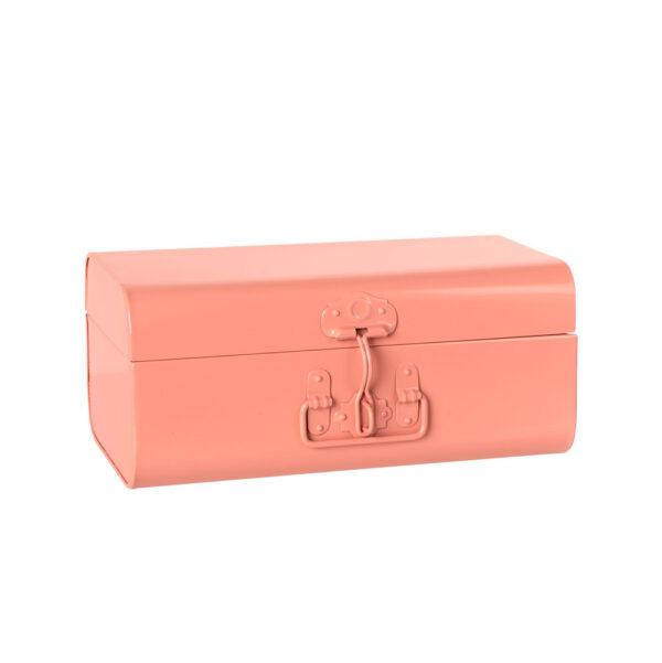 Maleta de metal – Rosa – Maileg – habitacion infantil – almacenaje – Liderlamp (1)