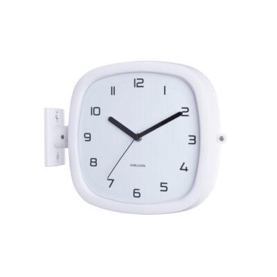 Reloj de pared Cuco - Present Time - blanco - analogico - decoracion - Liderlamp (1)