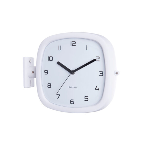 Reloj de pared Cuco - Present Time - blanco - analogico - decoracion - Liderlamp (1)