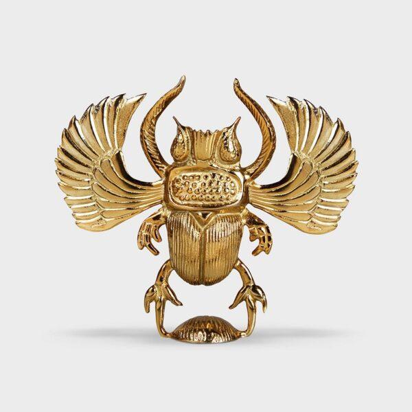 Candelabro Escarabajo Dorado – HK Living – regalo deco -velas – Liderlamp (2)