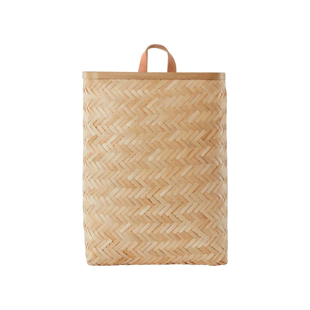 Cesta de Bambu Grande - OYOY - almacenaje - perchero recibidor - Liderlamp (3)