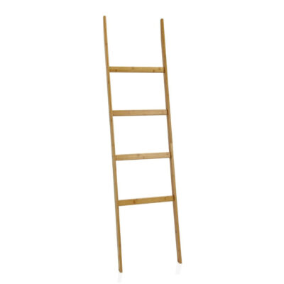 Escalera decorativa Lagik - Andrea House - Bambu - almacenaje - Liderlamp (1)
