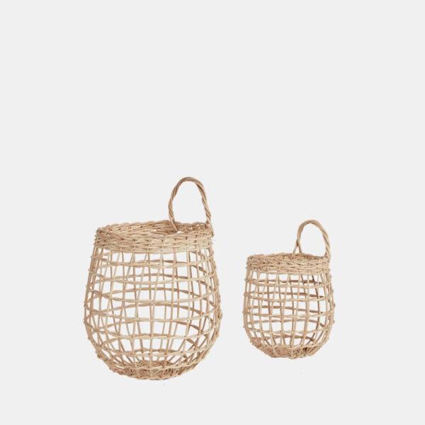 Set de 2 Cestas Onion - Olli Ella - ratan - almacenaje - colgante - natural - Liderlamp (5)