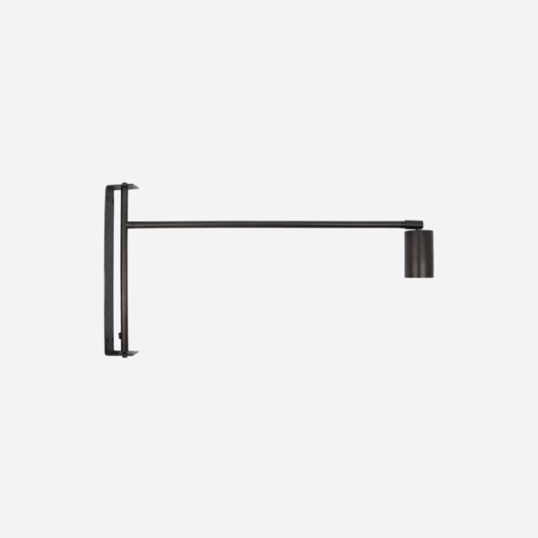 Aplique Norm - House Doctor - minimalista - metal negro - sobrio Liderlamp (1)