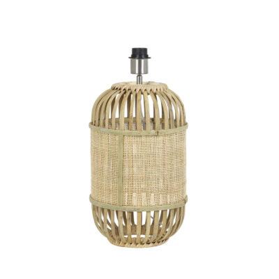 Base de Sobremesa Alifia - Light and Living - madera y bambu - Liderlamp
