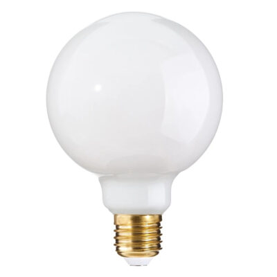 Bombilla Globo - E27 LED 7W - Luz calida - 125mm - Liderlamp (1)