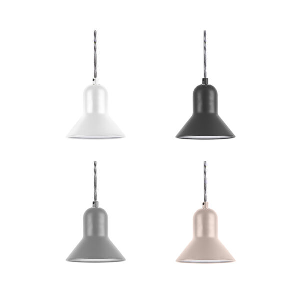 Colgante Slender - metal - minimalista - lampara techo - Present Time - Liderlamp (1)