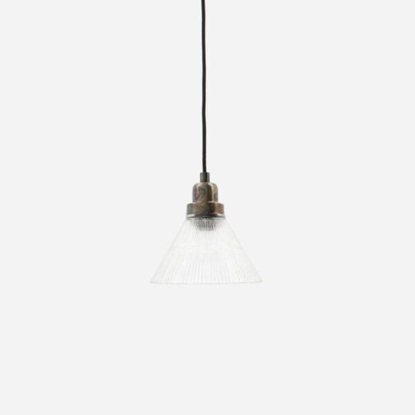 Colgante Vira - House Doctor - vidrio y metal - retro - envejecido - Liderlamp (1)