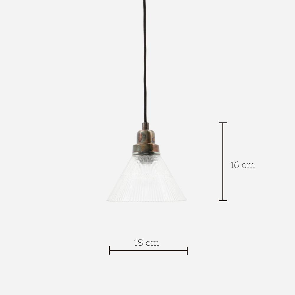 Colgante Vira - House Doctor - vidrio y metal - retro - envejecido - Liderlamp (12)