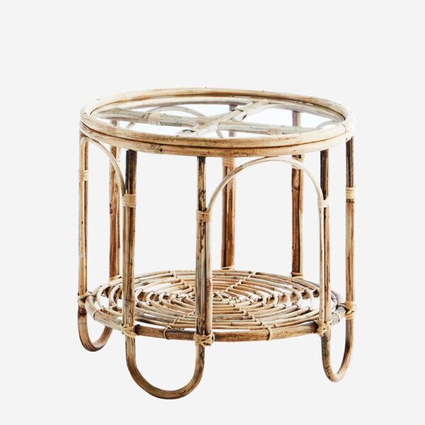 Mesa auxiliar Limia - Madam Stoltz - mesa auxiliar - salon - Bambu - Liderlamp (1)