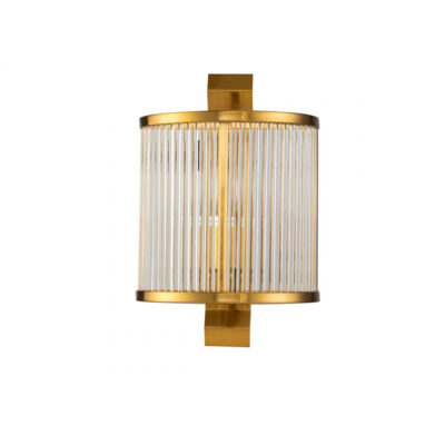 Aplique Dan - Crisal iluminacion - cristal y metal - estilo clasico - Liderlamp