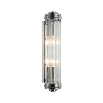 Aplique Kioto - Crisol iluminacion - cristal y metal - estilo clasico - Liderlamp