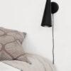 Aplique Precise - Negro - mesilla noche - orientable - House Doctor - Liderlamp (2)