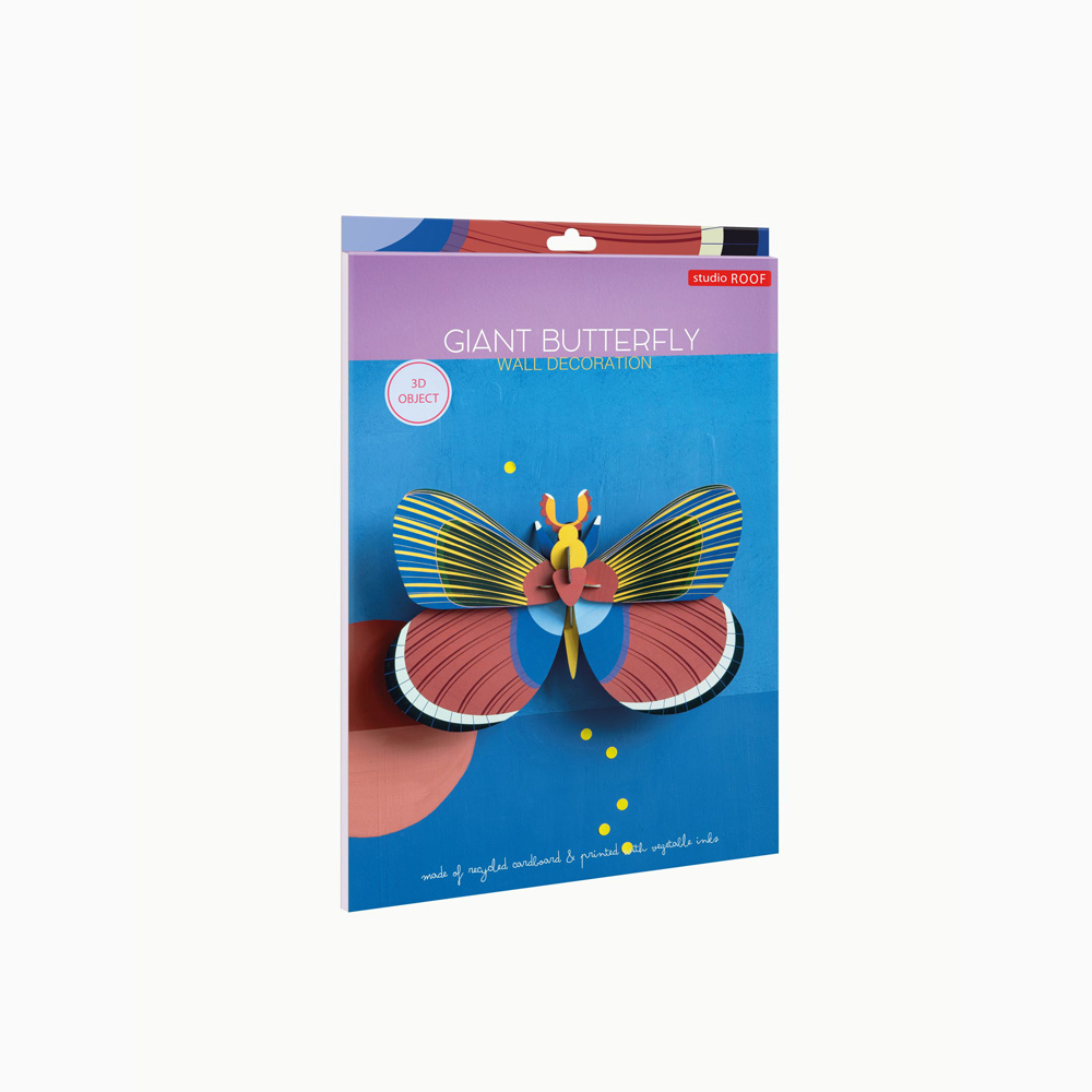 Butterfly Gigante - 3D - Studio Roof - decoracion mural - Liderlamp (1)