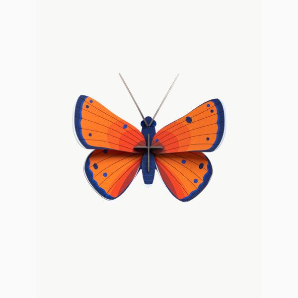 Copper Butterfly - 3D - Studio Roof - decoracion mural - Liderlamp (1)