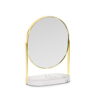 Espejo con Bandeja Cancara - dorado - aumento - Andrea House - Liderlamp (1)