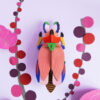 Lady Beetle Gigante - 3D - Studio Roof - decoracion mural - Liderlamp (1)