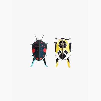 Lady Beetles - 3D - Studio Roof - decoracion mural - Liderlamp (1)