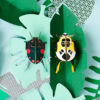 Lady Beetles - 3D - Studio Roof - decoracion mural - Liderlamp (1)