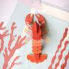 Lobster Gigante - 3D - Studio Roof - decoracion mural - Liderlamp (1)