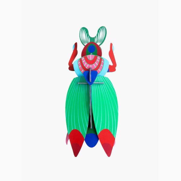 Scarab Beetle Gigante - 3D - Studio Roof - decoracion mural - Liderlamp (1)