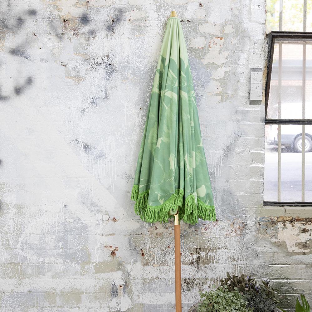 Sombrilla de playa - Pistacho - HK Living - textil - exterior - vacaciones - Liderlamp (1)