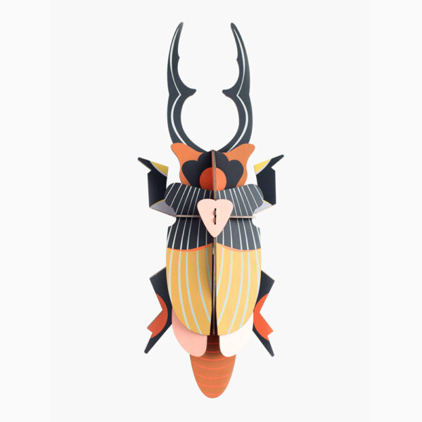 Stag Beetle Gigante - 3D - Studio Roof - decoracion mural - Liderlamp (1)