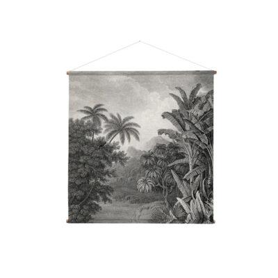 Tapiz Jungle XXL - HKliving - decoracion mural - botanica - ilustracion - Liderlamp (2)