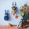 Tiger Beetle Gigante - 3D - Studio Roof - decoracion mural - Liderlamp (1)