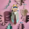Tiger Beetle Gigante - 3D - Studio Roof - decoracion mural - Liderlamp (4)