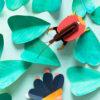 Violin Beetle - 3D - Studio Roof - decoracion mural - Liderlamp (1)